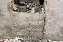 Tumban el 'sellado' de diez casas de Sa Penya dos semanas después del desalojo