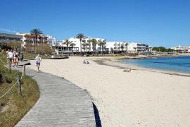 La temporada, a medio gas en Formentera