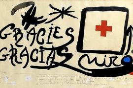 Christie's subastará en Londres obras de Miró a beneficio de los refugiados