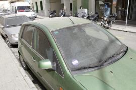 Lluvia de barro este miércoles en Balears