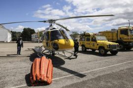 Ibiza dispondrá de un avión anfibio y una nueva helipista para extinguir incendios