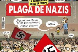 Agreden a la directora de 'El Jueves' tras publicar un portada contra los neonazis