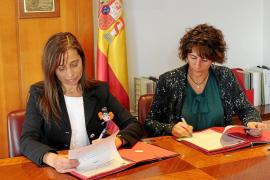 El Ministerio formaliza con el Govern el traspaso de la desaladora de Santa Eulària