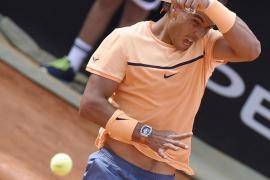 Djokovic apea a Nadal en los cuartos de final del Masters de Roma