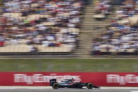 Alonso: «¡Por fin hemos entrado en la Q3!»