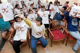 Los jóvenes de Apneef disfrutan con la jornada Ocio y Respiro en el hotel Ereso de Es Canar