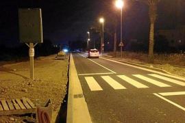 El Consell d'Eivissa reabre la travesía de Jesús después de casi seis meses de obras