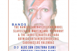 Tributo a David Bowie en La Red Club