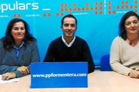 Negre y Palerm repiten como candidatas por el PP de Formentera