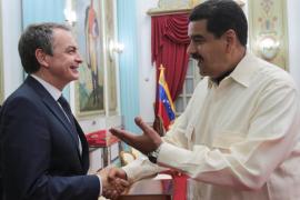 Maduro se reúne con Zapatero, «un buen ser humano»