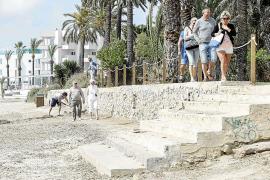 Platja d'en Bossa se une para involucrar a Vila y Sant Josep en su dinamización