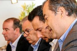 Vila aguanta el pulso de Formentera y reitera que la estación no cambiará de ubicación