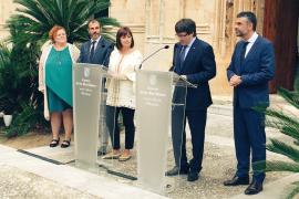Puigdemont irá a la final de Copa si retiran la prohibición de 'estelades'