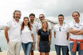 Los directivos de Eivissa y Palma estrechan lazos