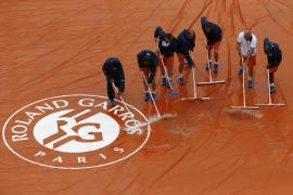 La lluvia obliga a suspender la primera jornada de Roland Garros