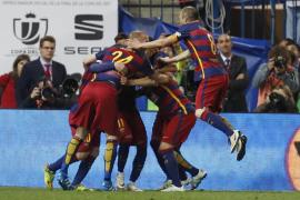 El Barça gana la Copa del Rey en la prórroga
