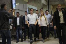 Albert Rivera llega a Venezuela, «un país rico que merece un cambio»