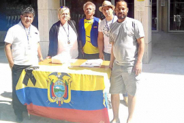 «En Eivissa hay un amplio movimiento solidario con el terremoto de Ecuador»