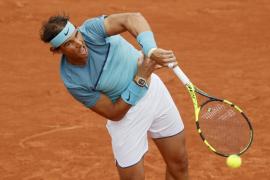 Nadal, sin problemas en su debut en Roland Garros