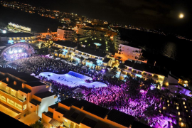 Multa de 12.000 euros a un hotel de Platja d'en Bossa por exceso de ruido en un concierto
