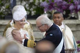 Bautizo del segundo hijo de la princesa heredera Victoria de Suecia