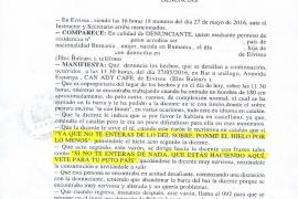 Denuncian al diputado socialista Enric Casanova por enviar a su «puto país» a una camarera