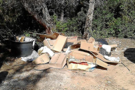 Santa Eulària abre 80 expedientes por infracciones relacionadas con los residuos