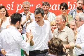Sánchez: «Quien apoye a Iglesias está votando contra el PSOE»