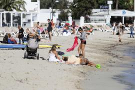 Erste Hitzetage auf Ibiza