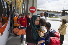 Ocho de los 45 refugiados que han llegado a Madrid vivirán en Balears
