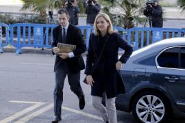 La Infanta e Iñaki Urdangarin vuelven al juicio del caso Nóos