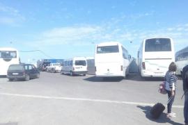 La APB obliga a retirar las casetas de obra del puerto por el «peligro» para los peatones