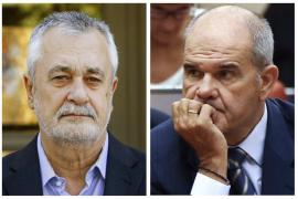 Los expresidentes Chaves y Griñán piden su baja como militantes del PSOE