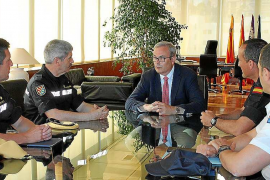 El Consell d'Eivissa cederá a partir del día 15 las instalaciones de Sa Coma para la UME