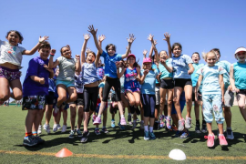 El deporte, un método perfecto de integración y diversión en Sant Josep