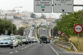 Mobilitat inicia el lunes cortes nocturnos en la carretera E-20 para cambiar señalización