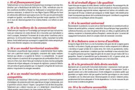 El PSIB propone al resto de fuerzas políticas «diez compromisos para el Sí a Baleares»