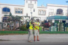 El Consell escanea la carretera de Santa Eulària en busca de restos arqueológicos