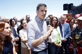 Sánchez llama a movilización socialista para liderar el cambio
