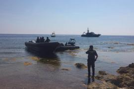 Huyen 5 presuntos narcotraficantes tras una persecución desde Ibiza a Dénia