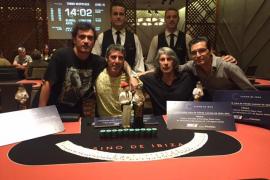 La liga de póker del Casino de Ibiza reparte 90.000 euros en premios