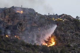 Incendio en Calasparra, Murcia