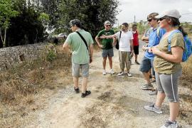 Una excursión para protestar contra el desdoblamiento