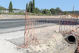Afectados de la carretera de Sant Joan, indignados por los «detalles» de la obra
