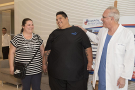 Una nueva técnica permitirá al mayor obeso de España perder 200 kilos