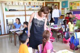 Armengol dice que ésta es la «legislatura de la educación»