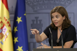 Soraya Sáenz de Santamaría participará en un mitin del PP en Sant Jordi el próximo martes