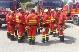 La UME reducirá en más de 10 horas sus tiempos de respuesta ante un incendio
