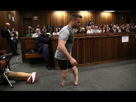 Pistorius anda sobre sus muñones ante la jueza para mostrar su vulnerabilidad
