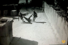 Imágenes del atentado contra soldados españoles en Afganistán